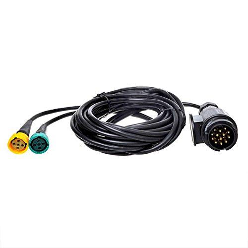 Kabelsatz 5M mit Stecker 13-polig und 2x Steckverbinder 5-polig 343088