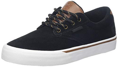 Etnies Herren Jameson Vulc Skateboardschuhe, Schwarz (Black/Gold 970), 45 EU