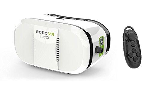 Motionjoy VR Headset Mount 3D Virtual Reality Brille Video Movie Game Gläser mit Mini Wireless Bluetooth Game Controller für 4.7' ~ 6'' Smartphones iPhone 6Plus 6 Samsung Galaxy S6 Edge Note 5 Moto