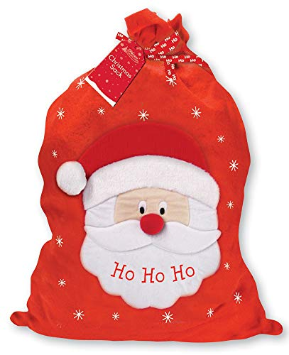 Home Collection Giant Children's Felt Christmas Santa Sack - Santa Claus Ho Ho Ho 30' x 18.5'