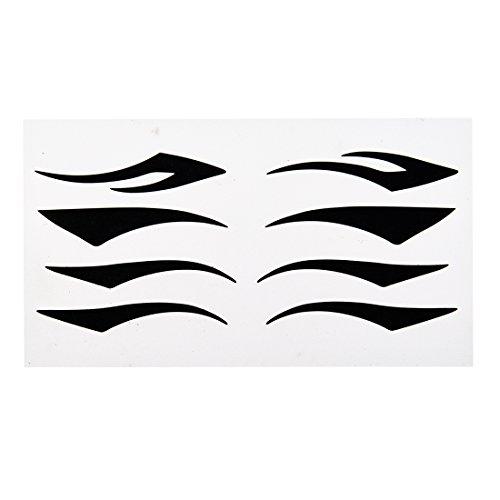 Moligh doll Komfortable schwarzen Eyeliner Tattoo-Aufkleber Augenlid Aufkleber