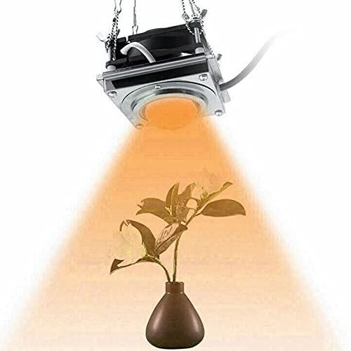GUOYULIN COB Led Plant Grow Light Full Spectrum, Lámpara De Cultivo para Plantas De Interior De Invernadero Hidropónico Vegetales Y Flores