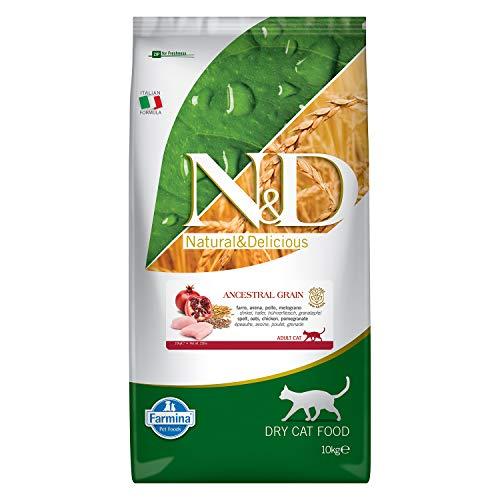 Farmina N&D getreidearm Katze Huhn & Granatapfel ADULT 10 KG