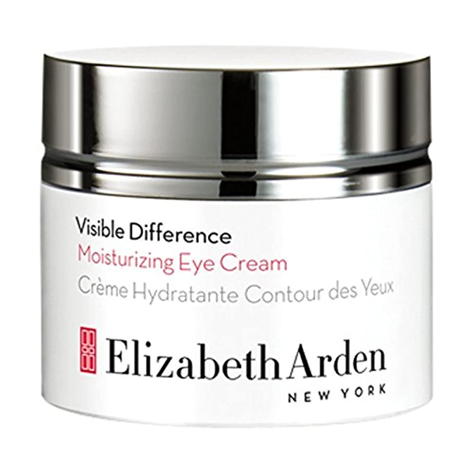 日付審判荒らすElizabeth Arden Visible Difference Moisturizing Eye Cream 15ml (Pack of 6) - エリザベスは、目に見える差保湿アイクリーム15ミリリットルをアーデン x6 [並行輸入品]