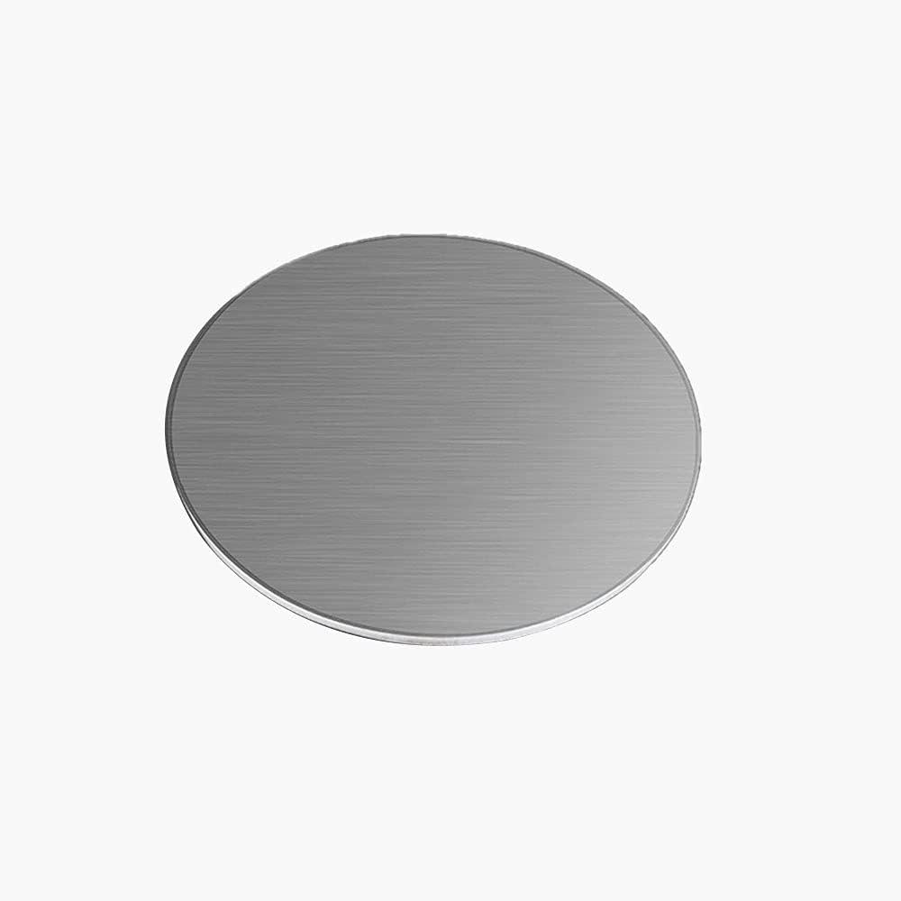 ZQQZ 304 chapas de Acero Inoxidable de 2mm Espesor de la Hoja Redonda DIY Moldes,Diameter:200mm