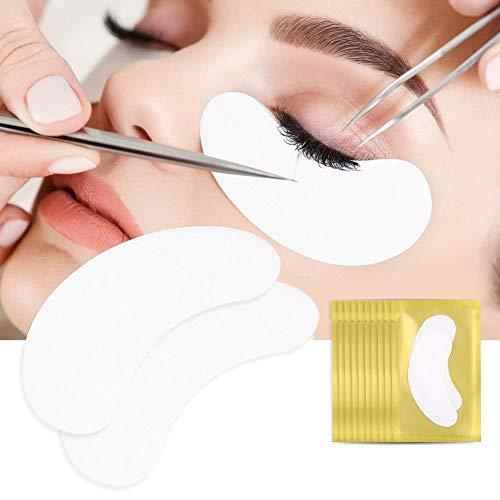 Eye Pads - Le tampon Hydrogel pour gel d'extension de cils corrige les extensions de collagène pour les yeux(50Pairs-Or)