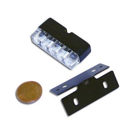 Mini Led Nummernschildbeleuchtung Schwarz E Gepr 256 035 Auto