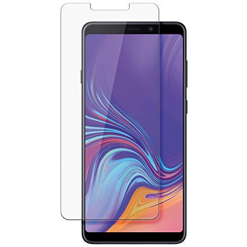 disGuard Schutzfolie für Samsung Galaxy A9 (2018) [2 Stück] Kristall-Klar, Bildschirmschutzfolie, Glasfolie, Panzerglas-Folie, Bildschirmschutz, extrem Kratzfest, Schutz vor Kratzer, transparent