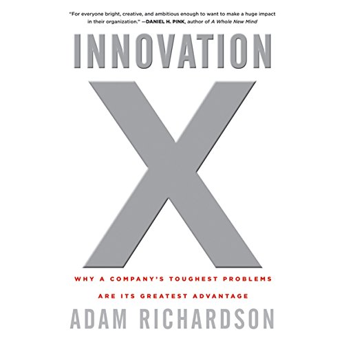 Innovation X audiobook cover art