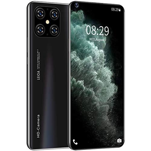 ZXYSR I12 Cellulare 4G, Pixel della Fotocamera da 16MP + 32MP Schermo A Discesa da 7,2 Pollici Telefonino Batteria da 5000 mAh 4 GB + 64 GB di RAM, Cellulari Economici,Nero