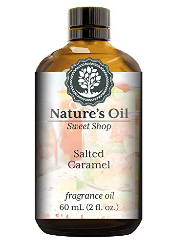 Salted Caramel Fragrance Oil (60ml) For Diffusers, Soap Making, Candles, Lotion, Home Scents, Linen Spray, Bath Bombs, Slime