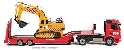 RC Baufahrzeug kaufen Baufahrzeug Bild 1: Carson 500907307 1:20 MB Arocs Goldhofer Spiel*