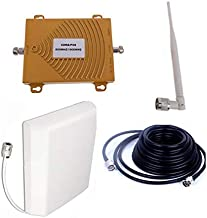 USA 4G Signal Booster Data and 2G Voice Repeater 850mhz CDMA Repeater PCS 1900Mhz Booster Lte Fdd Amplifier W/Panel Antenna for AT&T Sprint Verizon T mobile