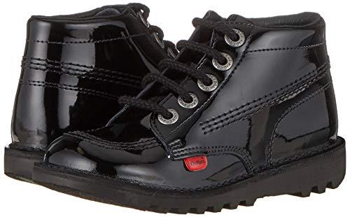 Kickers Unisex's Kick Hi Core Ankle Boots, Black, 6 UK (39 EU)