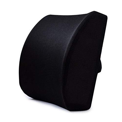 Almohada de espuma viscoelástica para respaldo lumbar, para oficina, casa, coche, corrector de postura cómodo