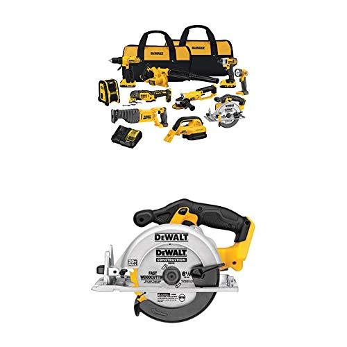 DEWALT DCK1020D2 20V Combo Kit and Circular Saw
