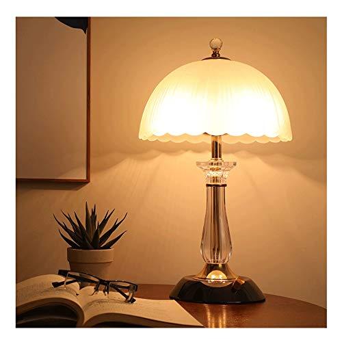 Moderne einfache Nachttischlampe, European Style Plexiglas Tischlampe mit Black Pearl Legierung Basis Wohnzimmer E27 Beleuchtung Dekoration 706