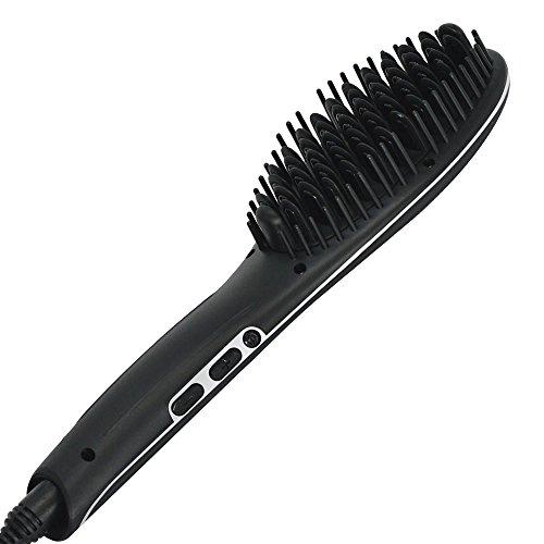Sutra Heat Brush 2.0 Brosse à lisser Noir
