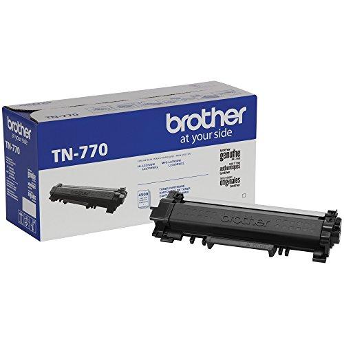 Brother TN-770 HL-L2370DW L2370DWXL MFC-L2750DW L2750DWXL Toner Cartridge (Black) in Retail Packaging