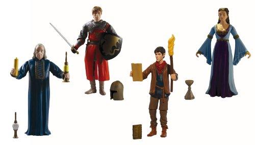 Les aventures de Merlin - Figurines - Set de 4
