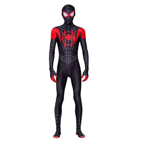 MODRYER Spider-Man Far from Home Cosplay Costumes Unisexe Adultes/Enfants 3D Halloween Spandex Lycra Combinaison Parti Zentai Mascarade Tenues Fans Film Apparel, Far from Home A-Kids/XXL150cm