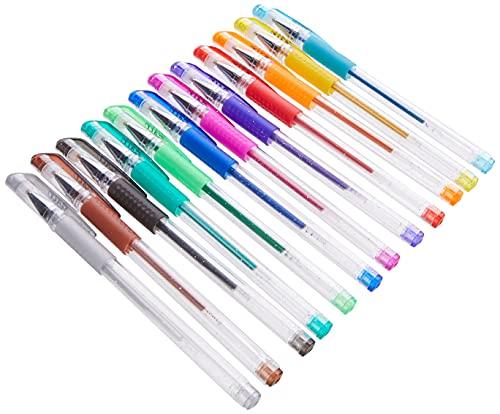 Galt Toys, 12 Glitter Gel Pens, Glitter Pen Set, Ages 6 Years Plus