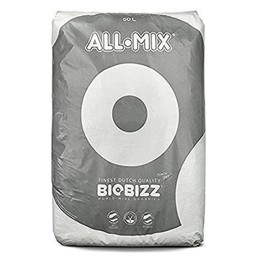Biobizz 02-075-110 - All-Mix mezcla de tierra pre-fertilizada, 50 litros