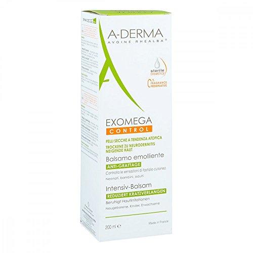 A-DERMA EXOMEGA CONTROL Intensiv Balsam steril 200 ml