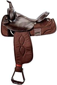 Big Horn Cordura Brown Saddle