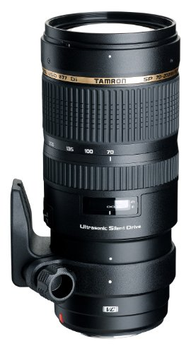 Tamron SP 70-200mm F2.8 Di VC USD Telephoto Zoom Lens for Canon (Model A009E) - International...