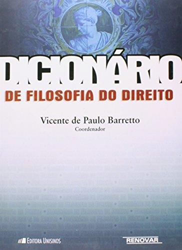 Dicionário De Filosofia Do Direito