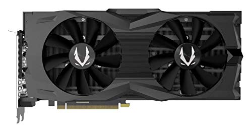 ZOTAC GAMING GeForce RTX 2080 Super AMP Grafikkarte (NVIDIA RTX 2080 Super, 8GB GDDR6, 256 Bit, Boost-Takt 1845Mhz, 15.5Gbps)