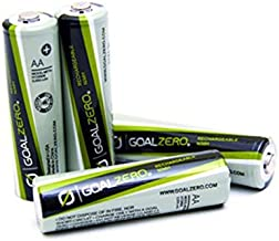 Goal Zero Rechargeable AA Batteries for Guide 10-4-Pack