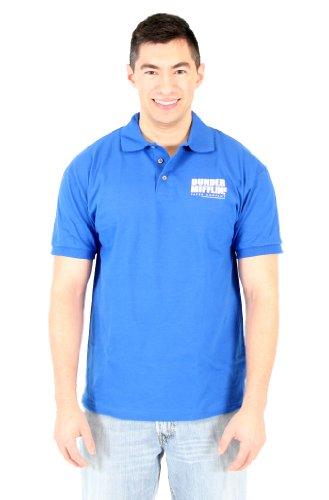 The Office - Polo - Homme - Bleu - Bleu marine - Large