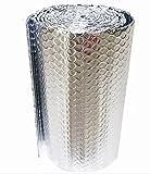 Rollo Aislante Termico, Aislamiento Termico Aluminio Reflexivo, Rollo Aislante Térmico De Aluminio, Aislamiento Térmico Multicapa Para Buhardilla Desván Paredes Caravanas Y Átic(Size:1x8m/3.2x26.2ft)