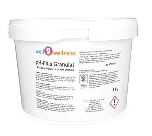 well2wellness pH Plus Granulat/pH Heber Granulat 3,0 kg