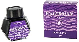 Waterman Ink for Fountain Pens, 50 ml, Tender Purple (S0110750)
