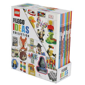 The Lego Ideas Collection - July 2017 (10 Books + 1 Mini Figure