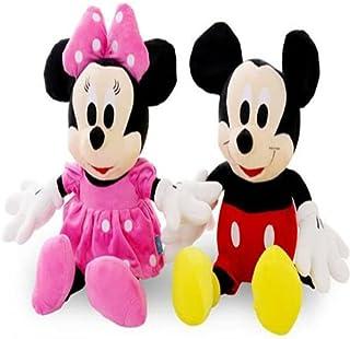 دمية ميكي المحشوة عالية الجودة &amp، ودمية ميني ماوس الفاخرة، مناسبة كهدايا في اعياد ميلاد الاطفال