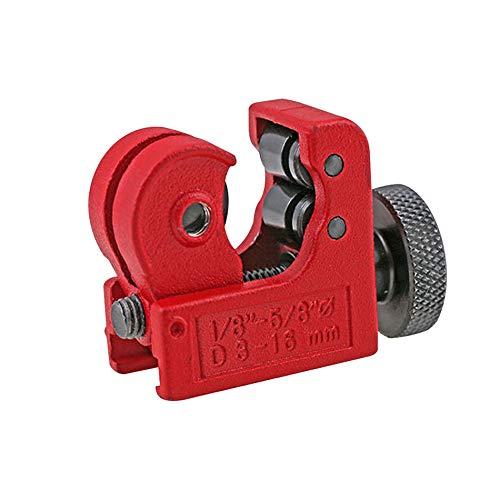 Mini coupe tube de tuyau, coupe tube en cuivre rouge en acier à roulement de haute qualité, diamètre de coupe d'outil de coupe de roue en métal multifonction 3-16mm