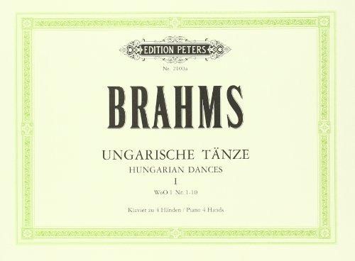 Ungarische Tänze (original) Band 1: für Klavier zu vier Händen