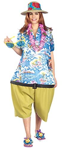 3. Forum Novelties Unisex Tropical Tourist Costume, Qty 1
