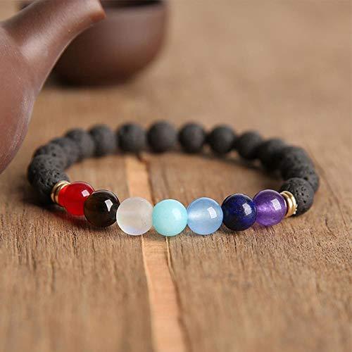Miner Bodhi Bracelets Men Meditation Mala Rudraksha Beads Bracelets Jewelry Prayer Chakras Tibetan Buddhism Yoga Bracelet,15,21cm