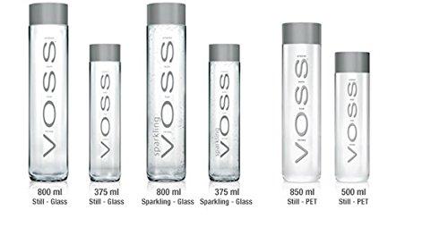 Voss Paket Sprudel 800ml, Still 800ml, Still 500ml PET, Still 850ml PET, Still 375ml, Sprudel 375ml