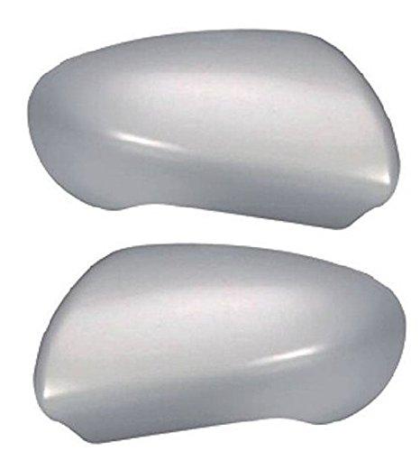 Par de carcasas de espejo derecho + izquierdo con imprimación de 2007 a 2013