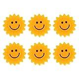 Gazechimp 6 Stück Vibrationsdämpfer für Tennis, Sonnenblume Muster