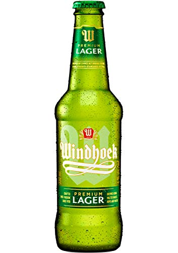 6x Windhoek Lager Bier 0,33 l, afrikanisches Sommerbier aus Namibia