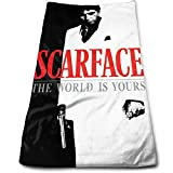 Zhengyu Scarface Towel 3070in Unisex Pattern Customized Microfiber Material