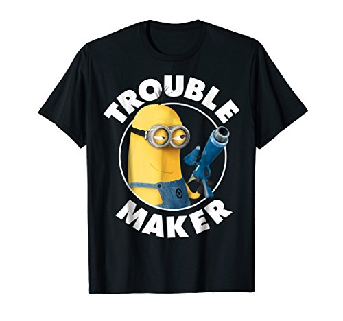Despicable Me Minions Kevin Trouble Maker Graphic T-Shirt