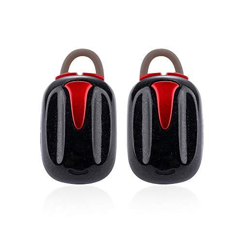 Mini True Wireless Sport Ohrhörer Twins Bluetooth Headset HiFi Stereo-Kopfhörer kabelgebunden Wireless in Over Beats weiß antenne bass Earphones Stereo v5.0 Stunden akkulaufzeit bügel smal HROIJSL